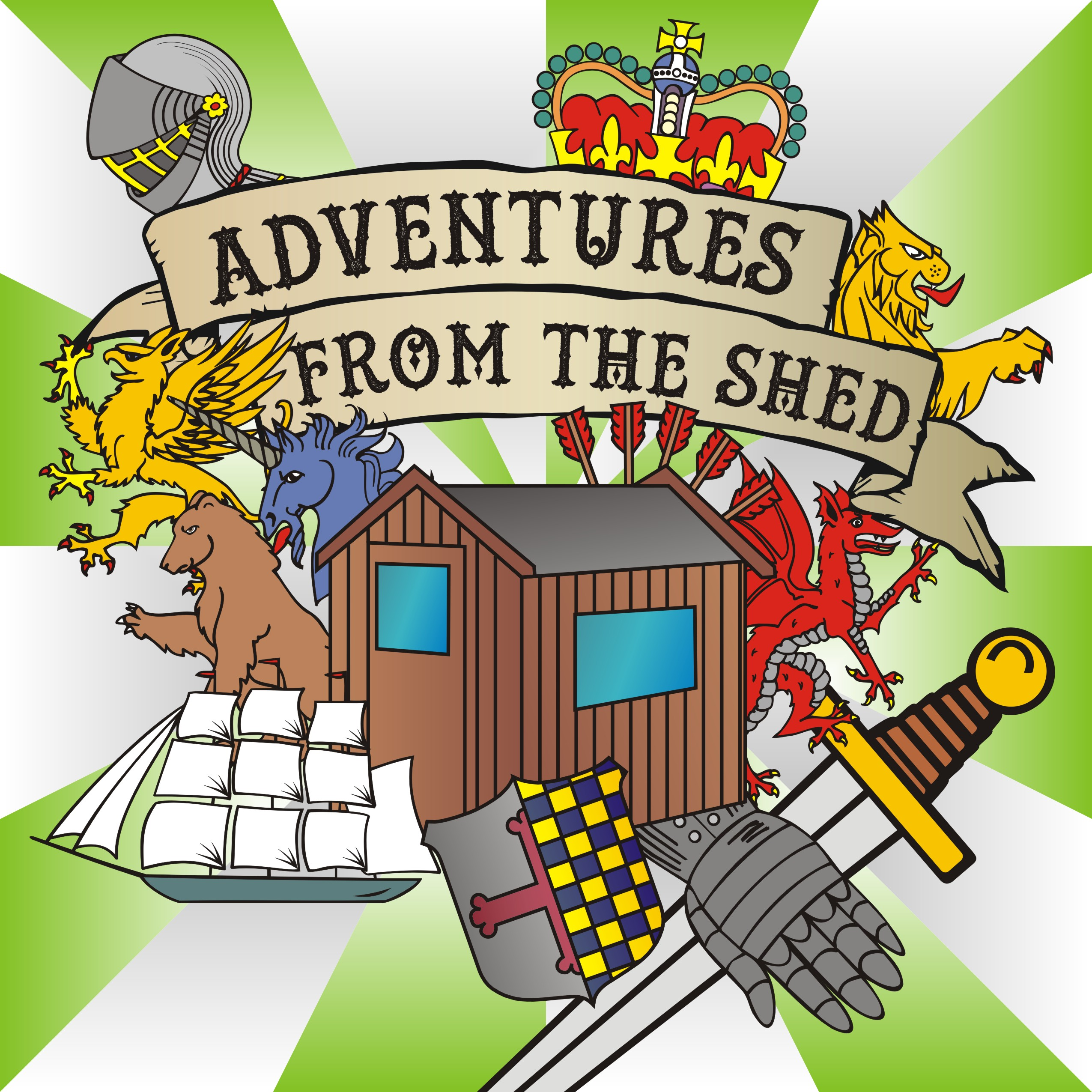 Adventures From The Shed – A Tabletop RPG Podcast logo